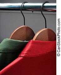 顏色, 襯衫, hangers:, 聖誕節