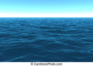 風景, 白天, 海洋