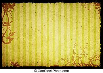 風格, 背景, 質地, 植物, 框架