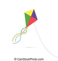 風箏, 插圖