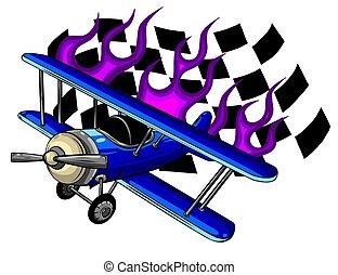 飛机, 插圖, 矢量