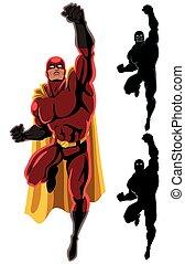飛行, 2, superhero