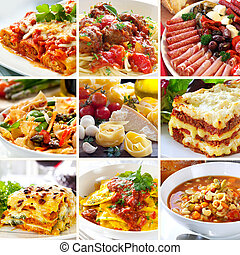 食物, 拼貼藝術, 意大利語