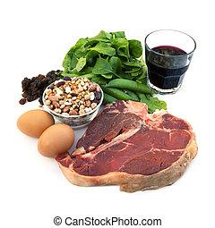 食物, iron-rich