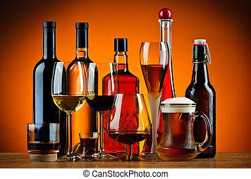 飲料抑制, 酒精, 眼鏡