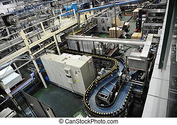 飲料, 工廠