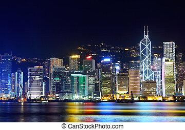 香港, 夜晚