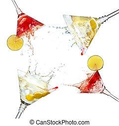 馬蒂尼雞尾酒, 飛濺, 雞尾酒, 被隔离, 集合, 石灰