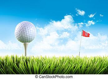 高爾夫球, 草, 分接