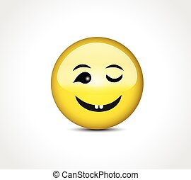 高興的微笑, emoticon, 臉, 按鈕
