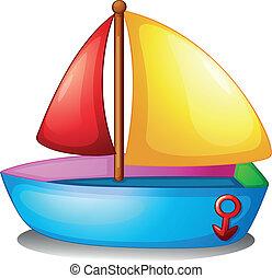 鮮艷, 小船