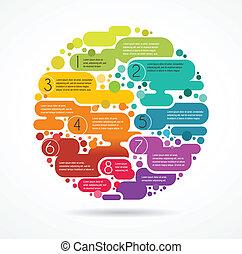 鮮艷, 正文, 摘要, 空間, 背景, infographics