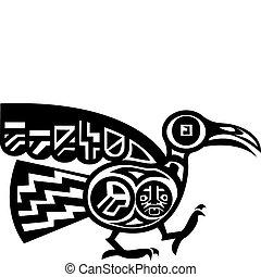鳥, 阿茲台克人