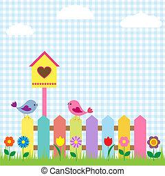 鳥, birdhouse