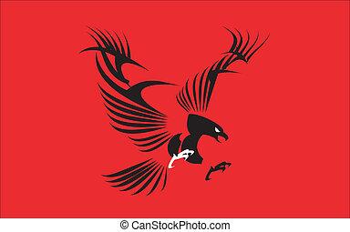 鷹, 偉大, 黑色