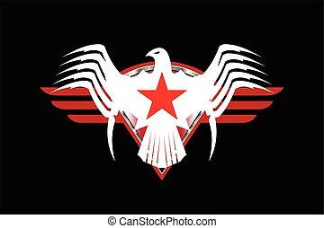 鷹, 愛國者