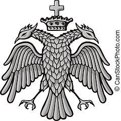 鷹, 王冠, 拜占庭