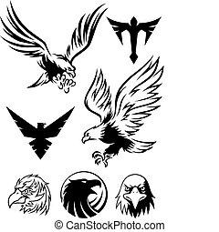 鷹, 符號