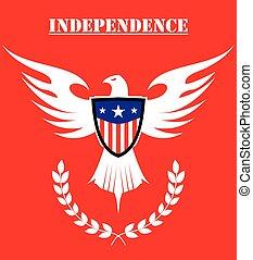 鷹, 自由