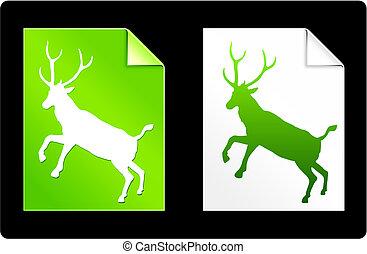 鹿, 頁, 彙整