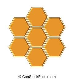 黃色, 矢量, 幾何學, 插圖