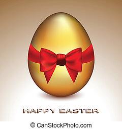 黃金, 复活節蛋