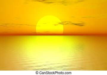 黃金, 日出