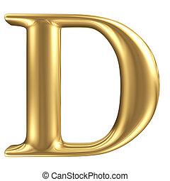 黃金, 無光油漆, 珠寶, d, 彙整, 信, 洗禮盆