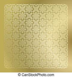 黃金, 牆紙, seamless, 緞子