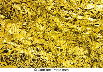 黃金, 罐子 箔