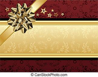 黃金, 設計, 紅色