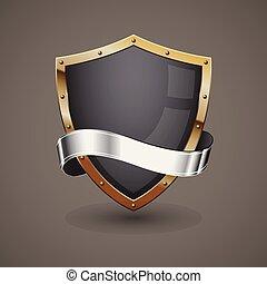 黃金, 銀, 盾