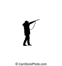 黑色半面畫像, 打獵