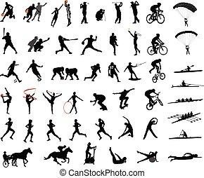 黑色半面畫像, 運動, 彙整