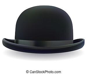 黑色, 投球手帽子