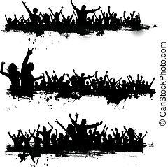 黨, grunge, 人群