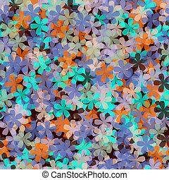 abstrct, 花, seamless