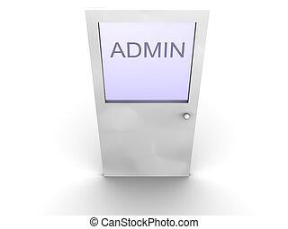 admin, 門