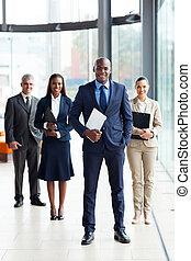 african, 領導人, 商業組