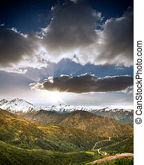 andes, 智利