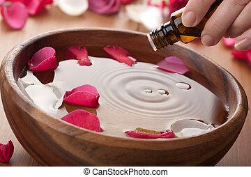aromatherapy油, 根本