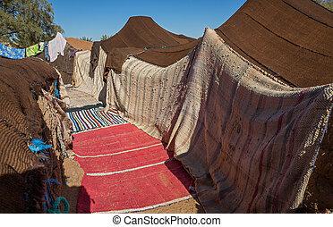 bedouin, 帳篷
