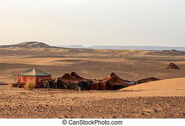 bedouin, 沙漠, 營房