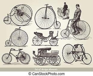 bicycles, 集合, 老