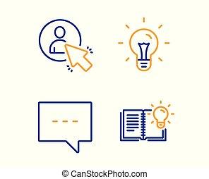 blog, 產品, 知識, 圖象, 光, set., 項目, 想法, 矢量, 消息, 閒談, manager., 徵候。, 燈泡, 用戶