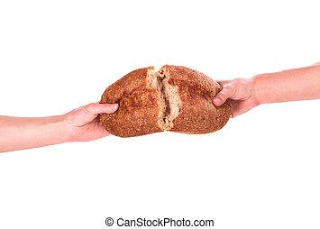 bread, 手