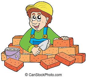 bricklayer, 愉快