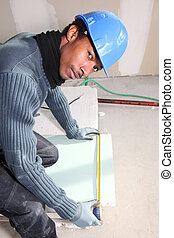 bricklayer, 測量, 盤子