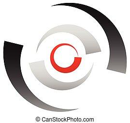 bullseye, 目標, 分割, 徵候。, 同心, 符號。, 圖象, 點, 圈子, 中心, crosshair, 精確, 紅色