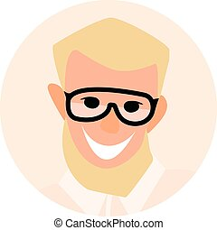 businessmen., 套間, 人們。, avatar, 圖象